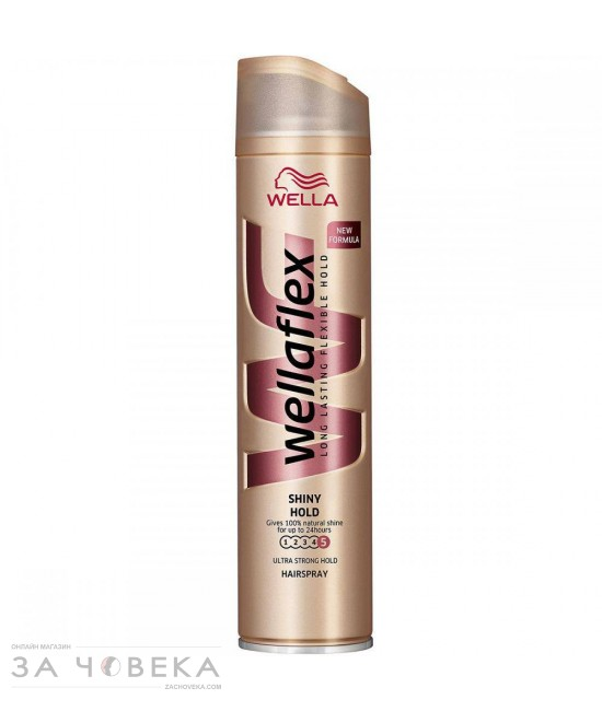 ЛАК ЗА КОСА SHINE WELLAFLEX WELLA 250ML