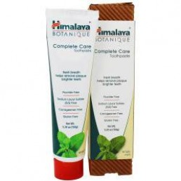 ПАСТА ЗА ЗЪБИ BOTANIQUE COMPLETE CARE SIMPLY MINT 150G HIMALAYA
