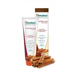 ПАСТА ЗА ЗЪБИ BOTANIQUE COMPLETE CARE SIMPLY CINNAMON 150G HIMALAYA
