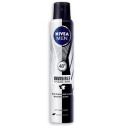 NIVEA INVISIBLE FOR BLACK WHITE ORIGINAL ДЕО СПРЕЙ 200ML ЗА МЪЖЕ