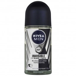 РОЛ ОН INVISIBLE FOR BLACK AND WHITE MAN NIVEA