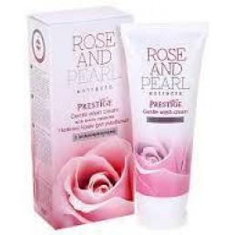 """Измивен крем с микрогранули Rose And Pearl 100ml Prestige   Магазин - """"За Човека"""""""