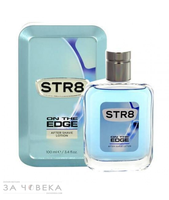 АФТЪР ШЕЙВ ON THE EDGE 100ML STR8