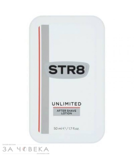 АФТЪР ШЕЙВ UNLIMITED 50 ML STR8