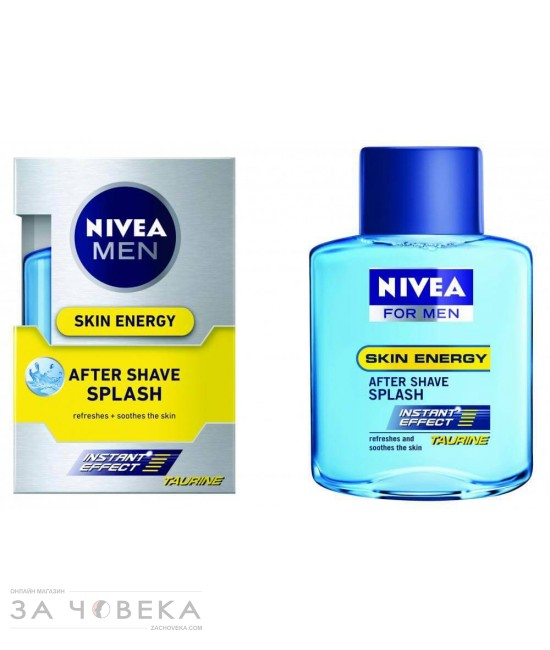 АФТЪР ШЕЙВ SPLASH 100ML NIVEA