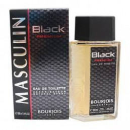 BOURJOIS MASCULIN BLACK PREMIUM EDT 100ML  ЗА МЪЖЕ