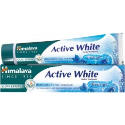 ПАСТА ЗА ЗЪБИ ГЕЛ ACTIVE WHITE 75ML HIMALAYA