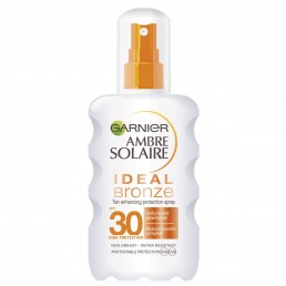 "Слънцезащитен спрей Ideal Bronze SPF 30 Ambre Solaire 200ml Garnier | Магазин - ""За Човека"""