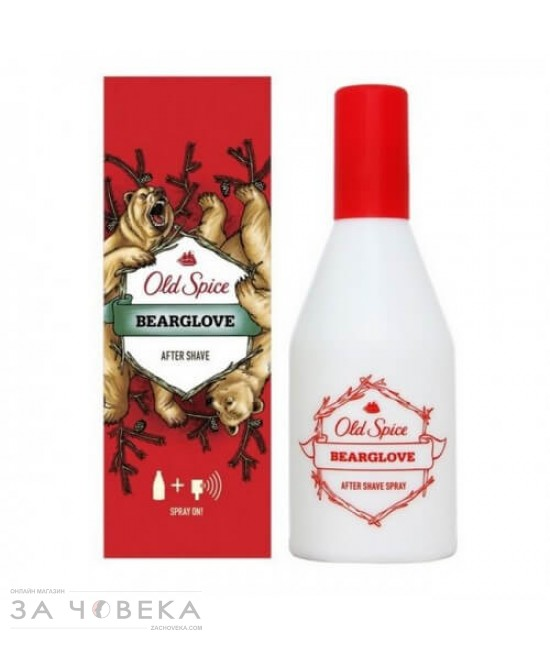 АФТЪРШЕЙВ BEARGLOVE 100ML OLD SPICE