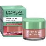 Маска за лице Pure Clay Exfo 50ml L'Oreal