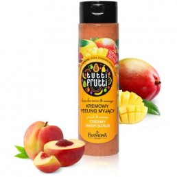 "ДУШ ГЕЛ ЕКСФОЛИАНТ PEACH MANGO 250ML TUTTI FRUTTI FARMONA | Магазин - ""За Човека"""