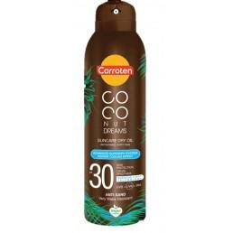 "Слънцезащитно олио спрей Coconut Dreams SPF 30 150ml Carroten | Магазин ""За Човека"""