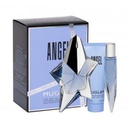 "Thierry Mugler Angel комплект EDP 50ml + EDP 10ml + душ гел 50ml за жени | Магазин ""За Човека"""