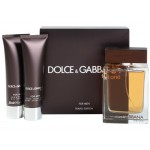 DOLCE & GABBANA THE ONE FOR MEN SET EDT 100ML + АФТЪРШЕЙВ БАЛСАМ 50ML + ДУШ ГЕЛ 50ML ЗА МЪЖЕ КОМПЛЕКТ
