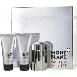 MONT BLANC EMBLEM INTENSE SET EDT 100ML + АФТЪРШЕЙВ 100ML + ДУШ ГЕЛ 100ML ЗА МЪЖЕ КОМПЛЕКТ
