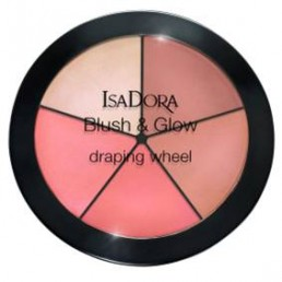 "Палитра Blush Glow Draping Wheel №55 Isadora | Магазин - ""За Човека"""