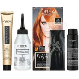 БОЯ ЗА КОСА PREFERENCE L'OREAL