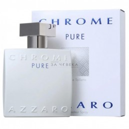 AZZARO CHROME PURE EDT 50ML ЗА МЪЖЕ