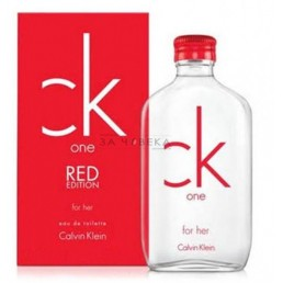 "Calvin Klein CK One Red Edition For Her EDT 50ml за жени | Магазин - ""За Човека"""