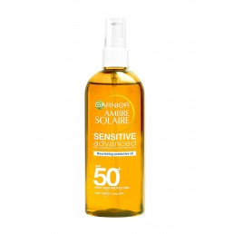ОЛИО СЛЪНЦЕЗАЩИТНО SENSITIVE SPF 50 150 ml AMBRE SOLAIRE GARNIER