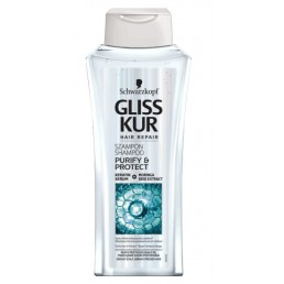 "Шампоан за мазна коса Gliss Kur Purify & Protect 250ml Schwarzkopf | Магазин - ""За Човека"""