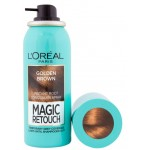 СПРЕЙ ЗА КОСА MAGIC RETOUCH GOLDEN BROWN 75ML L'OREAL