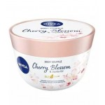Крем за тяло Body Souffle Cherry Blossom & Jojoba Oil 200ml Nivea