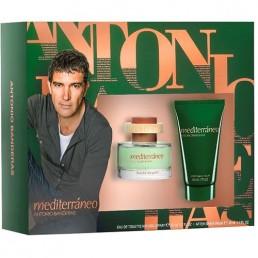 "Antonio Banderas Mediterraneo комплект EDT 50ml + афтършейв 50ml за мъже | Магазин - ""За Човека"""