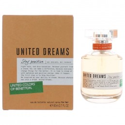 "Benetton United Dreams Stay Positive EDT 80ml за жени | Магазин - ""За Човека"""
