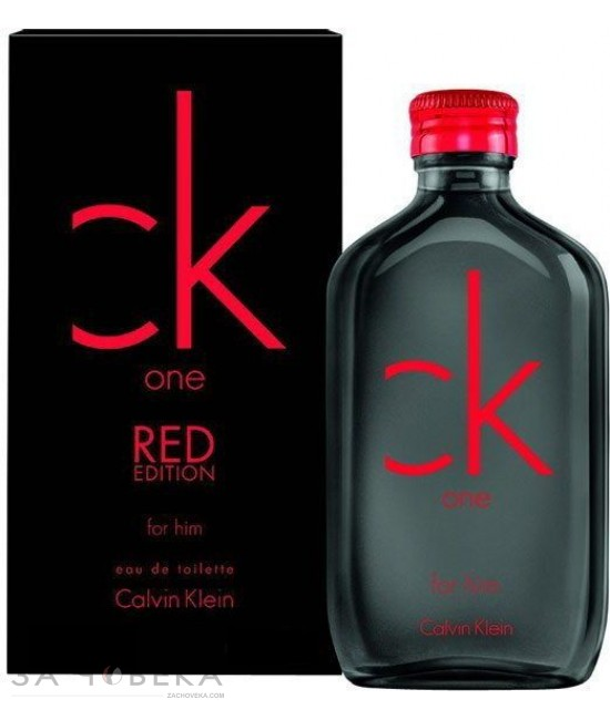 "Calvin Klein CK One Red Edition For Him EDT 100ml за мъже | Магазин - ""За Човека"""