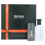 Hugo Boss Bottled Sport комплект EDT 100ml за мъже + део стик 75ml за мъже