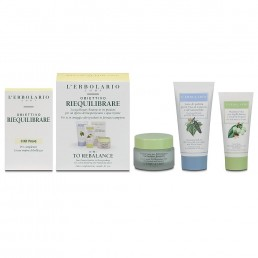 "Комплект Riequilibrare за мазна и проблемна кожа L'Erbolario | Магазин - ""За Човека"""