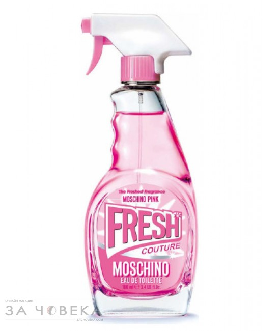 "Moschino Pink Fresh Couture EDT 100ml за жени тестер | Магазин - ""За Човека"""
