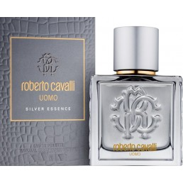 "Roberto Cavalli Uomo Silver Essence EDT 40ml за мъже | Магазин - ""За Човека"""
