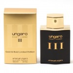 UNGARO POUR L'HOMME III GOLD & BOLD LIMITED EDITION EDT 100ML ЗА МЪЖЕ