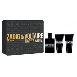 ZADIG & VOLTAIRE THIS IS HIM SET EDT 50ML + ДУШ ГЕЛ 50ML + ДУШ ГЕЛ 50ML ЗА МЪЖЕ КОМПЛЕКТ