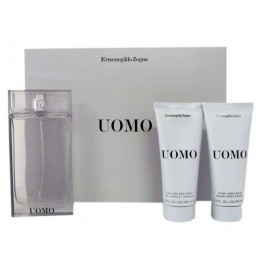 ZEGNA UOMO SET EDT 100ML + АФТЪРШЕЙВ БАЛСАМ 100ML + ДУШ ГЕЛ 100ML ЗА МЪЖЕ КОМПЛЕКТ