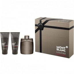 MONT BLANC LEGEND INTENSE SET EDT 100ML + АФТЪРШЕЙВ БАЛСАМ 100ML + ДУШ ГЕЛ 100ML ЗА МЪЖЕ КОМПЛЕКТ