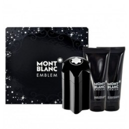 MONT BLANC EMBLEM SET EDT 100 ML + АФТЪРШЕЙВ БАЛСАМ 100ML + ДУШ ГЕЛ 100ML КОМПЛЕКТ ЗА МЪЖЕ
