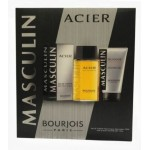 BOURJOIS MASCULIN ACIER SET EDT 100ML + ДУШ ГЕЛ 150ML ЗА МЪЖЕ КОМПЛЕКТ