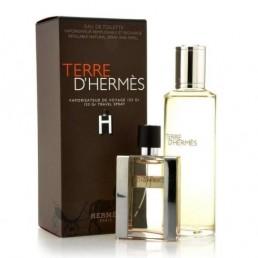"""Hermes Terre D'Hermes комплект EDT 30ml презареждаем + EDT 125ml пълнител за мъже   Магазин - """"За Човека"""""""