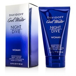 ЛОСИОН ЗА ТЯЛО COOL WATER NIGHT DIVE WOMAN 150ML DAVIDOFF