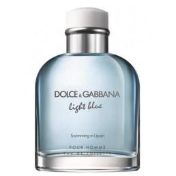 "Dolce & Gabbana Light Blue Pour Homme Swimming In Lipari EDT 125ml за мъже тестер | Магазин - ""За Човека"""