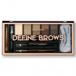 ПАЛИТРА DEFINE BROWS 1944-2 PROFUSION COSMETICS
