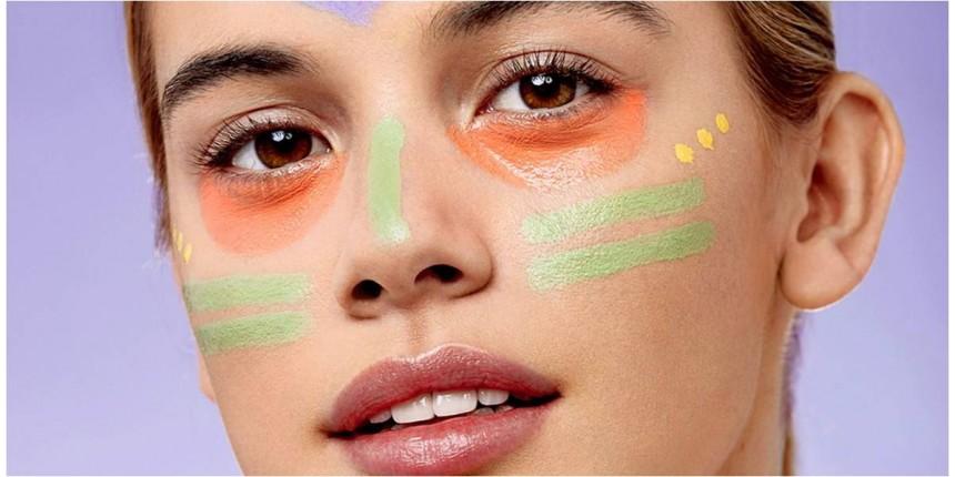 Как да използваме различните цветове коректор за лице
